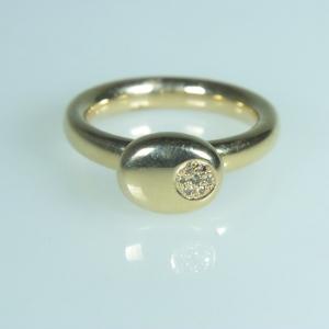 BRON Ring diamant, Stardust
