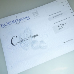 Cadeaubon € 50,-