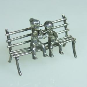 Miniatuur Kinderbankje